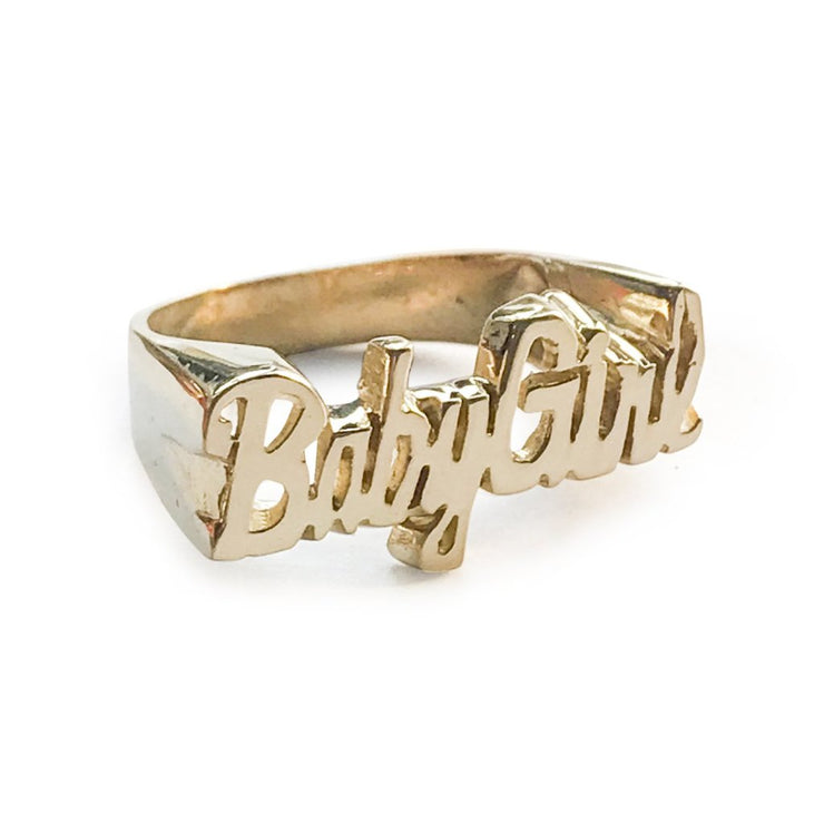Babygirl 2 Ring - SNASH JEWELRY