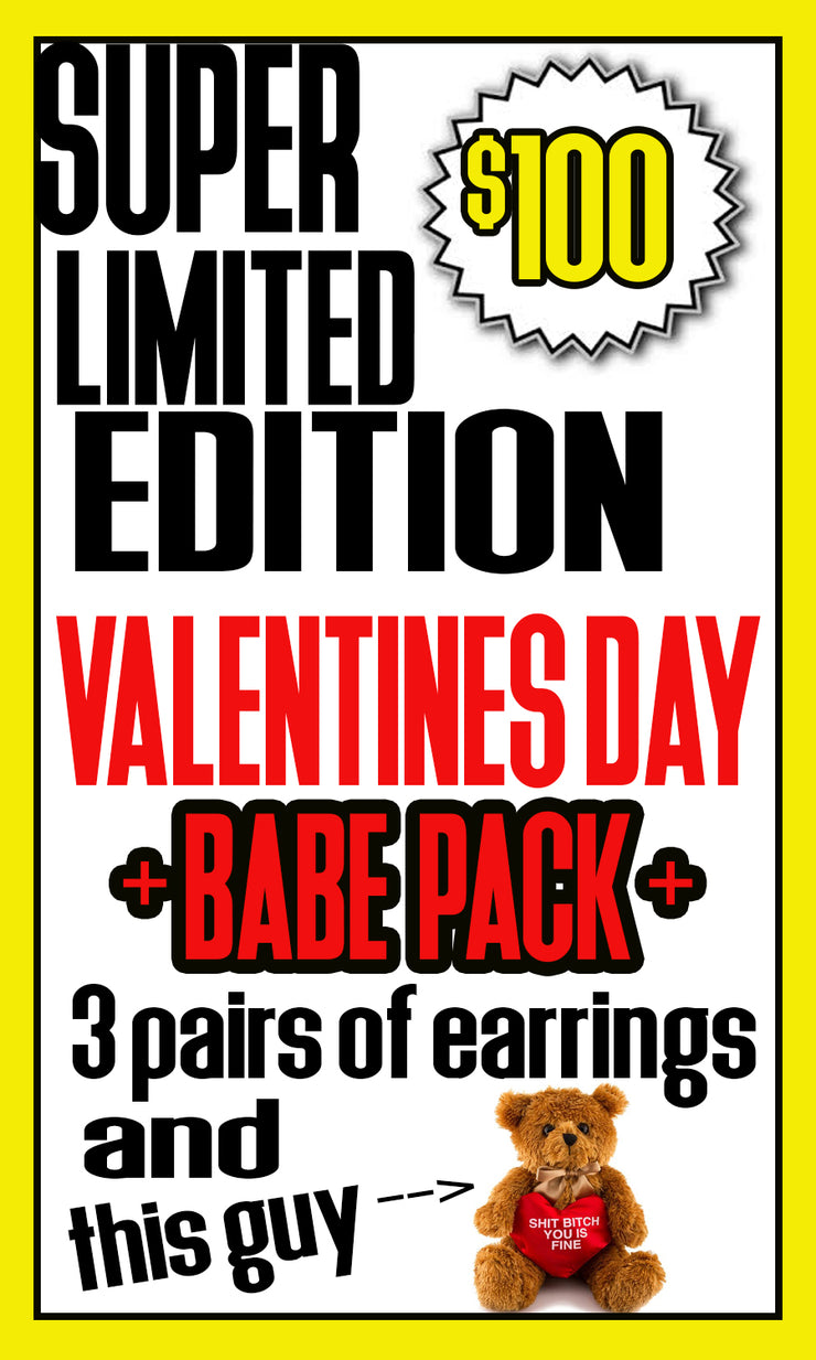 BABE PACK + Limited Edition Valentines Day Fun Pack +