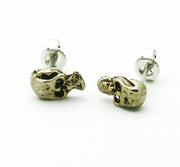 Mini Skull Stud Earrings - SNASH JEWELRY