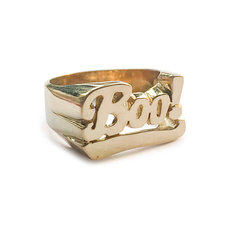 Boo! Ring - SNASH JEWELRY