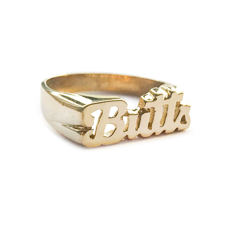 Butts Ring - SNASH JEWELRY