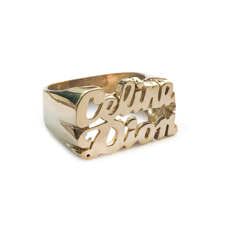 Celine Dion Ring - SNASH JEWELRY