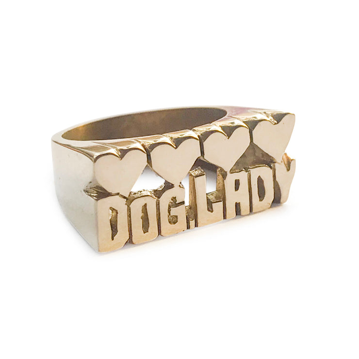 Dog Lady Ring