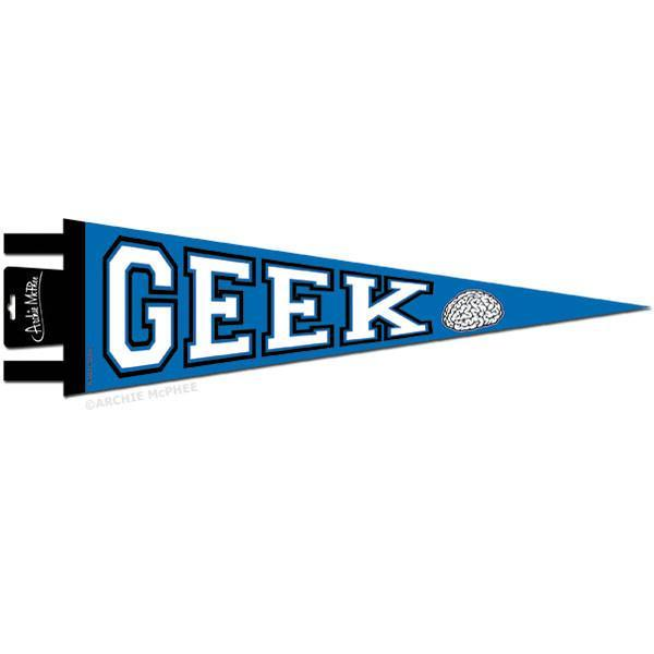 Geek Pennant - SNASH JEWELRY