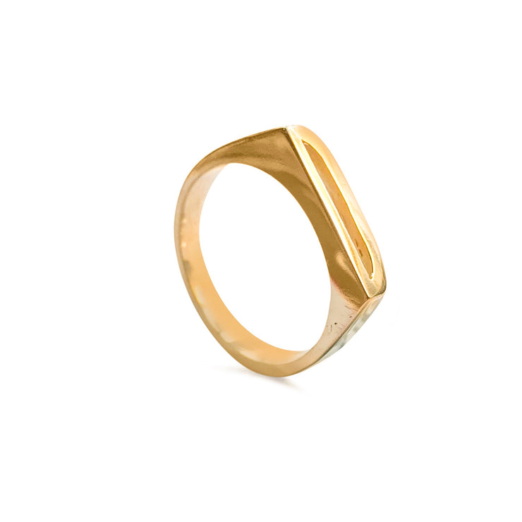 Stacking Initial / Letter Rings - SNASH JEWELRY