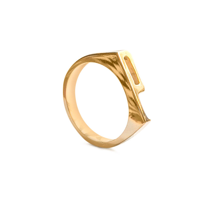 Stacking Initial / Letter Rings