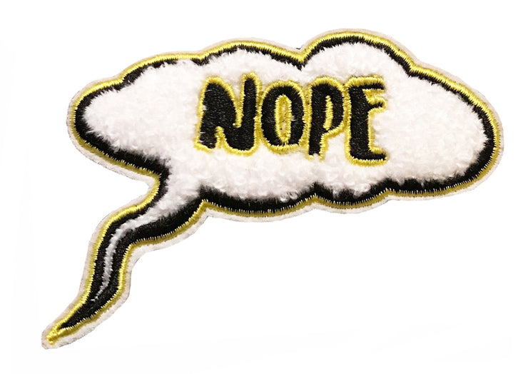 Nope Patch - SNASH JEWELRY