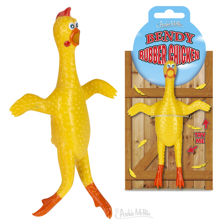 Bendy Rubber Chicken