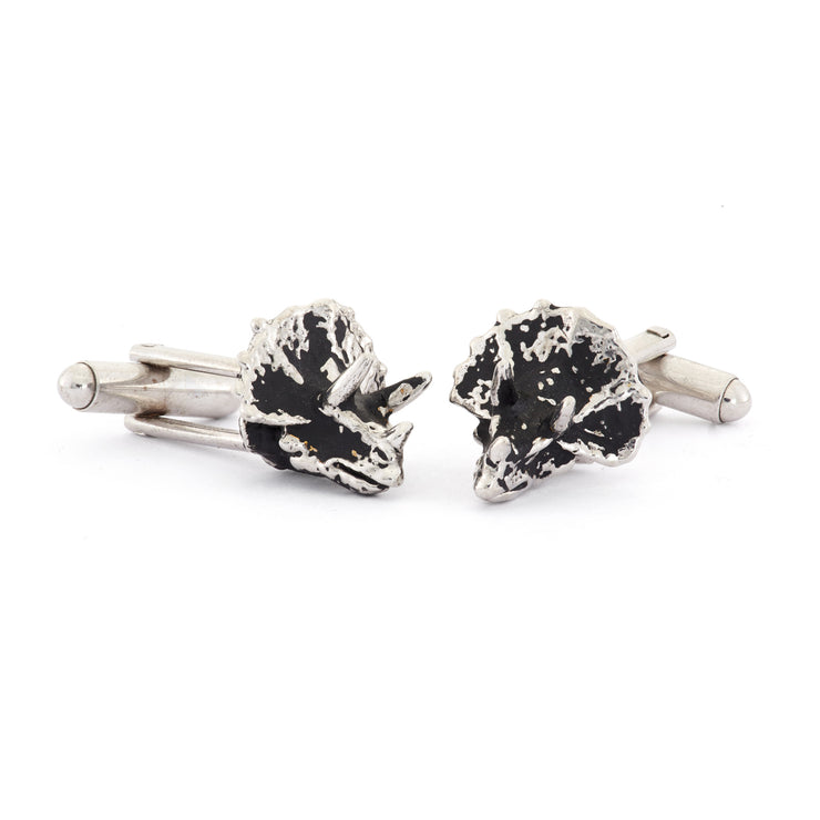 Triceretops Cufflinks - SNASH JEWELRY