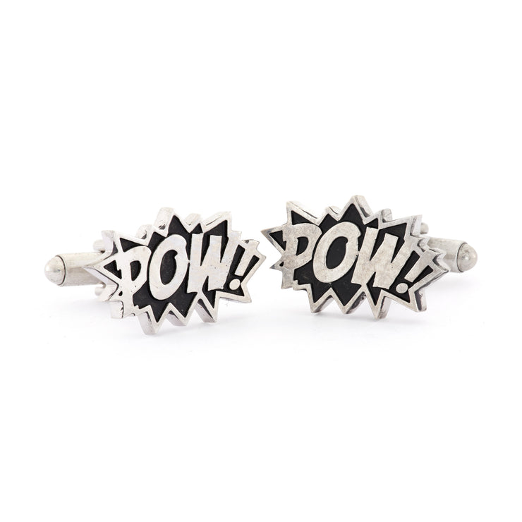 Pow Cufflinks - SNASH JEWELRY