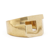 Block Initial / Letter Rings - SNASH JEWELRY