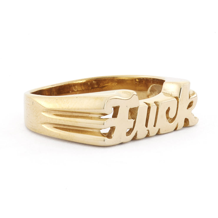 Fuck Ring - SNASH JEWELRY