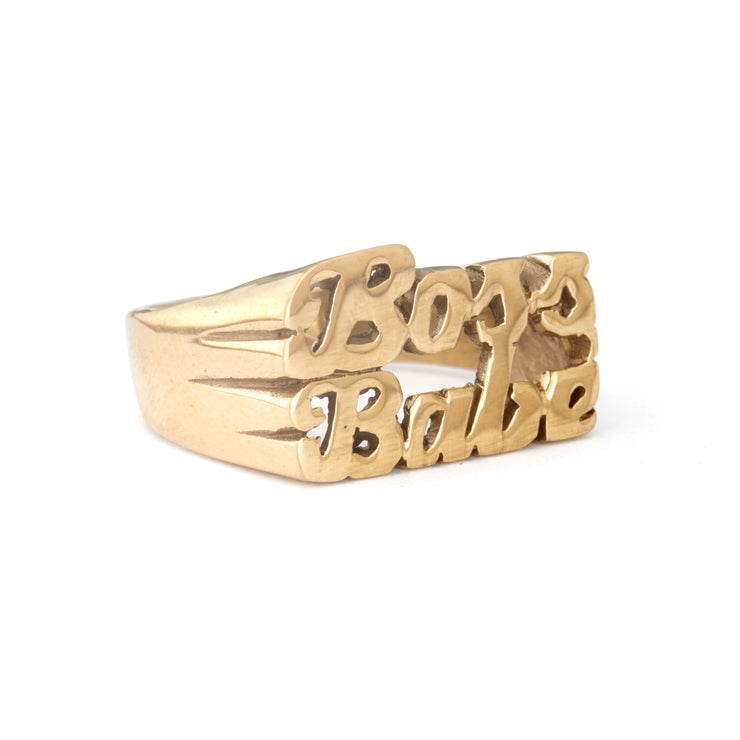 Boss Babe Ring - SNASH JEWELRY