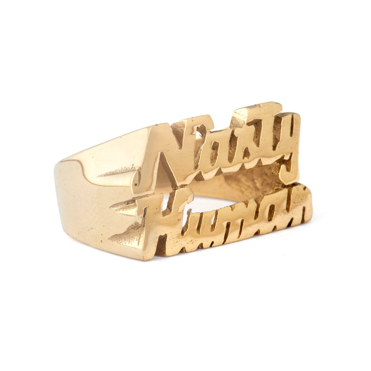 Nasty Human Ring - SNASH JEWELRY