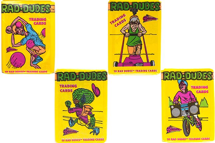 Rad Dudes Trading Card Pack - SNASH JEWELRY