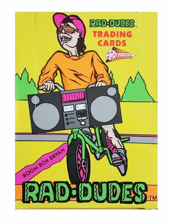 Rad Dudes Trading Card Pack