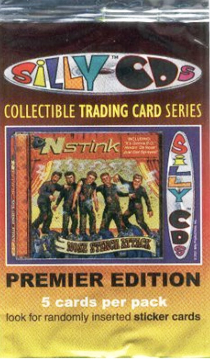 Silly-CDs Trading Card Pack - SNASH JEWELRY