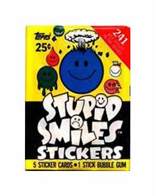 Stupid Smiles Sticker Pack - SNASH JEWELRY