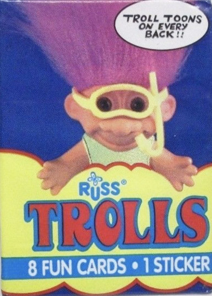Troll Trading Card Pack - SNASH JEWELRY