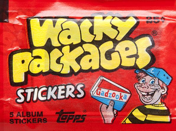Wacky Packages Original Sticker Pack - SNASH JEWELRY