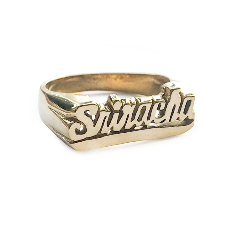Sriracha Ring - SNASH JEWELRY