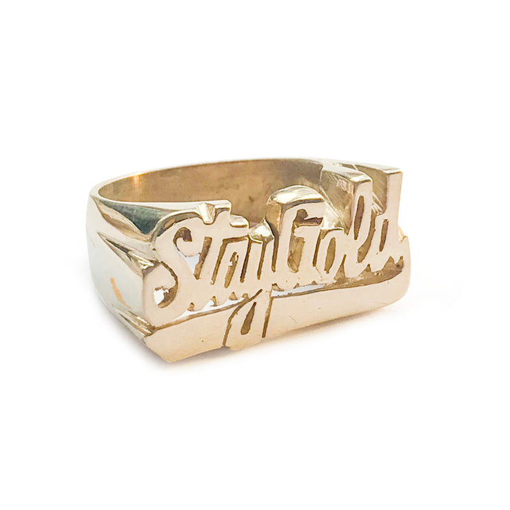 Stay Gold Ring