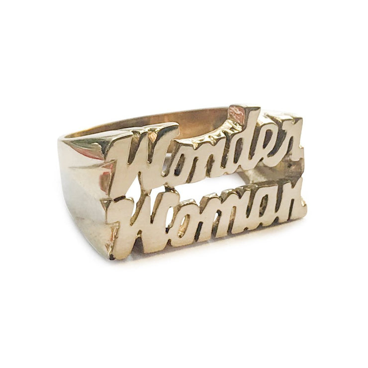 Wonder Woman Ring - SNASH JEWELRY