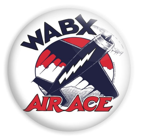 WABX AIR ACE Magnet/Button