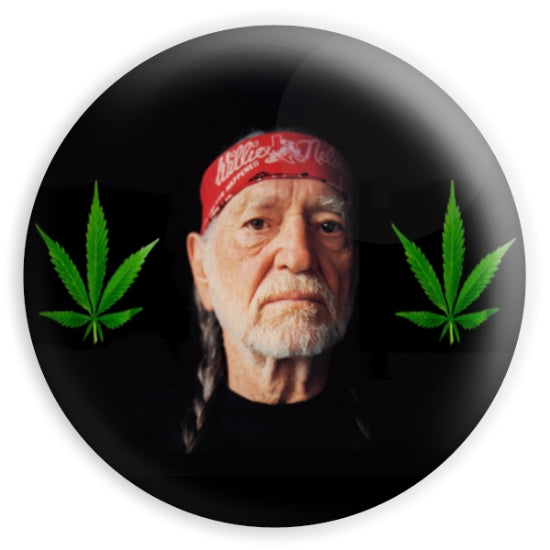 willie nelson magnet