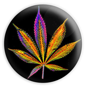 psychedelic weed magnet