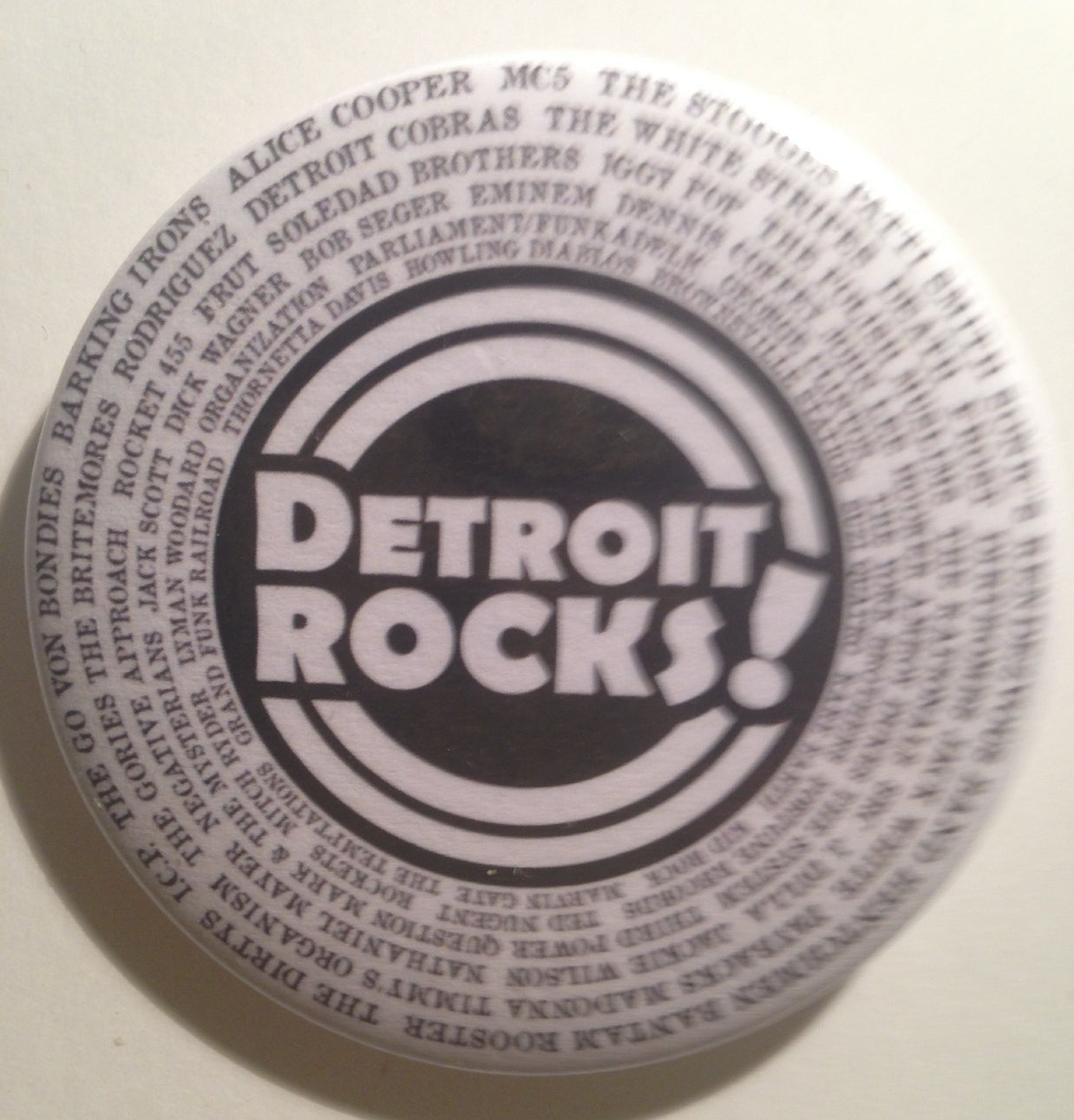 Detroit rocks magnet