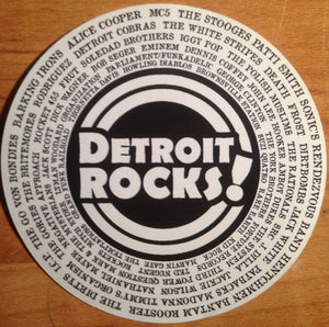DETROIT ROCKS VINYL STICKER