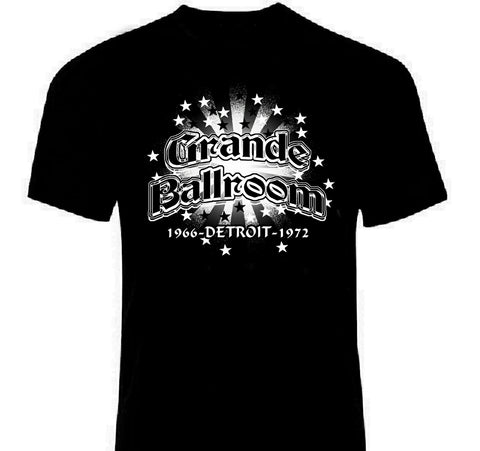 Grande Ballroom Detroit T-Shirt | Lost In Sound Detroit