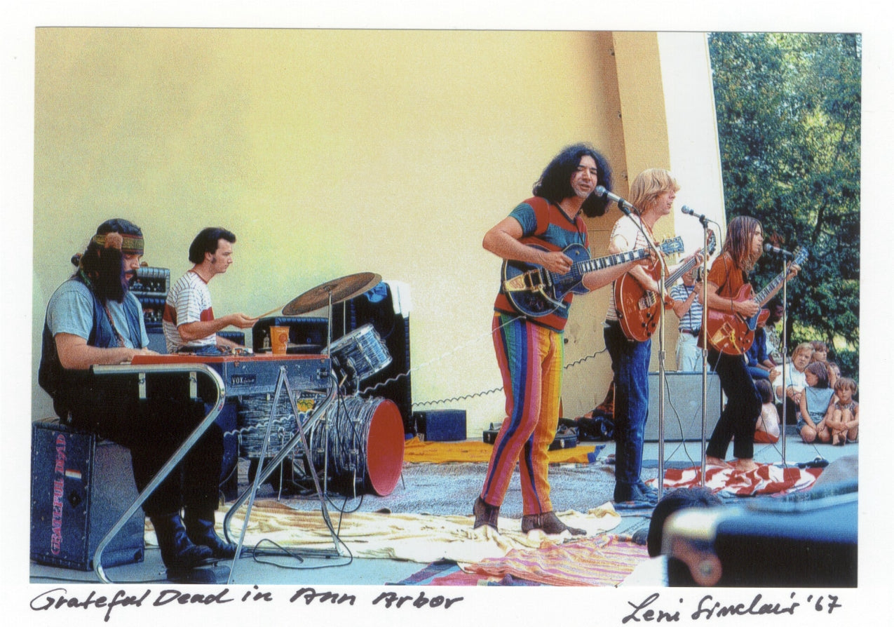 grateful Dead Leni Sinclair photo