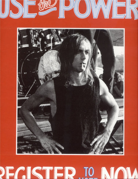 iggy pop leni sinclair poster vote 2020