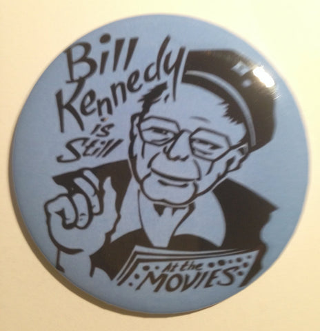 Bill Kennedy Detroit Television  -  magnet or button
