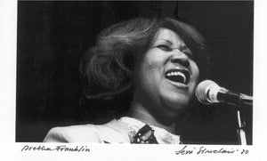 Aretha FRANKLIN leni Sinclair Photo