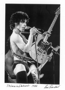 prince Leni Sinclair photo Cobo Arena 1980