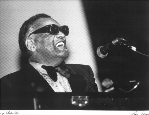 Ray Charles Leni Sinclair photo   wwww.lostinsounddetroit.com