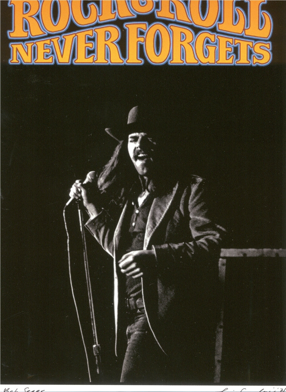 Bob Seger Rock & Roll Never Forgets 1971 Leni Sinclair Photo