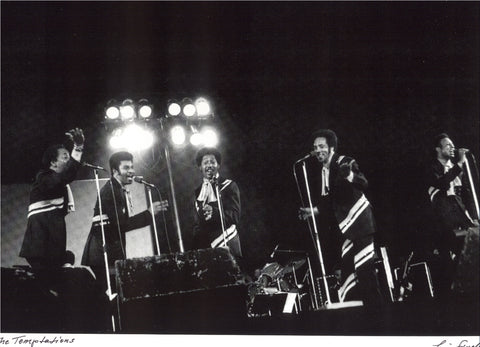 The Temptations Leni Sinclair photo