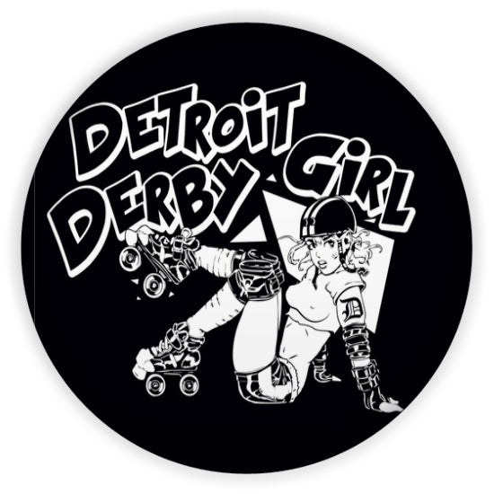 detroit derby girls magnet