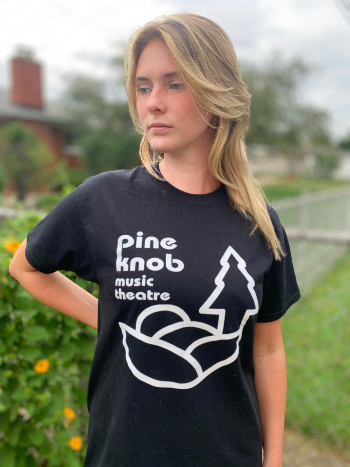 Pine Knob Music Theatre T Shirt Double-Sided