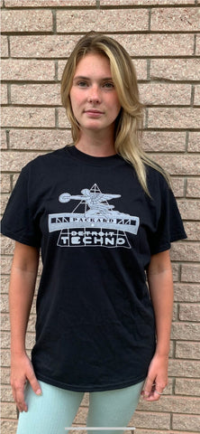 Packard Plant Detroit Techno T-Shirt | Lost In Sound Detroit
