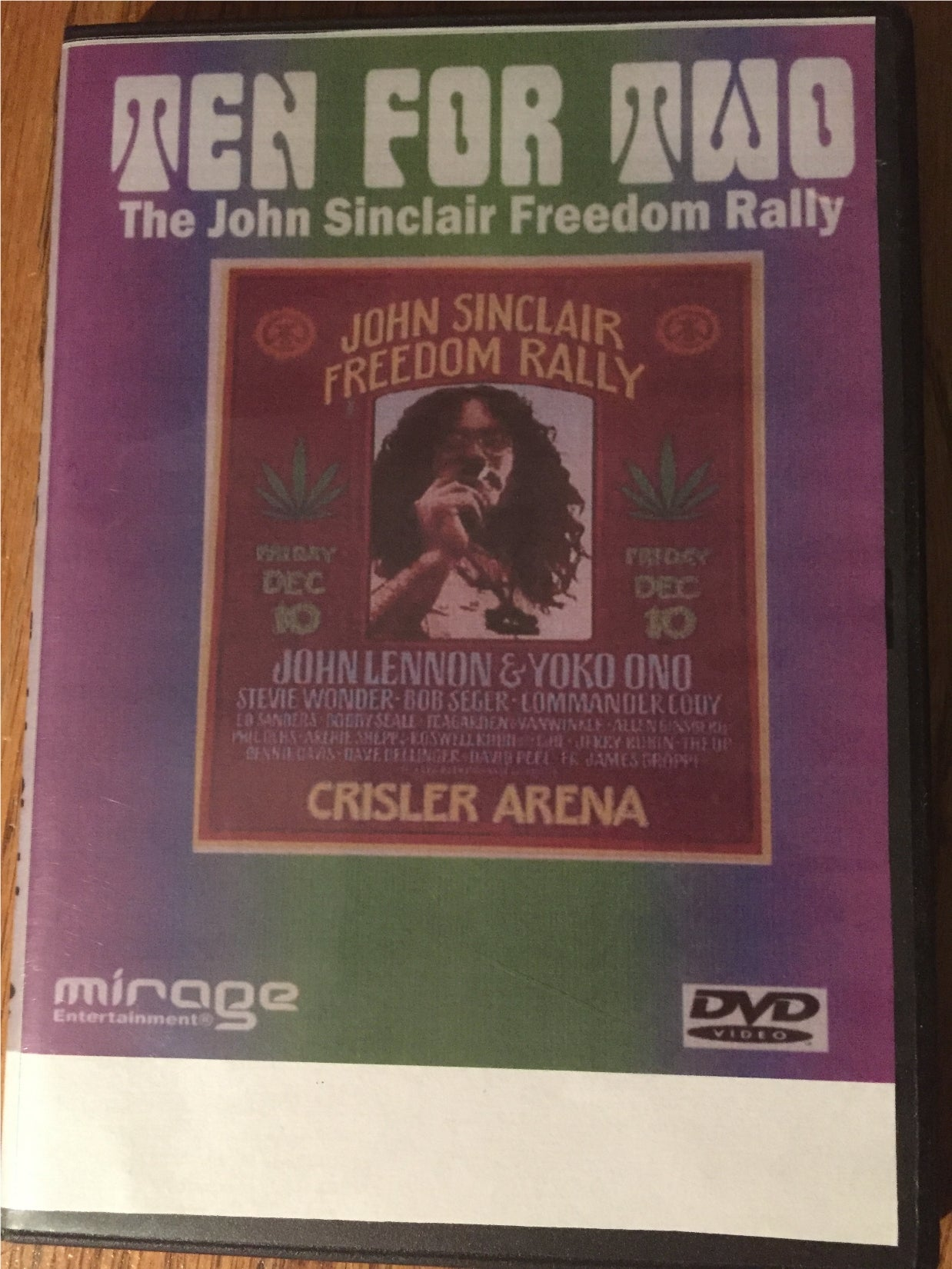 Ten For Two John Sinclair Freedom Rally DVD