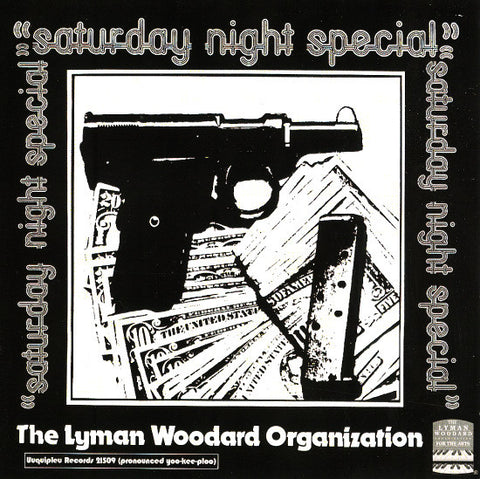 "Lyman Woodward Organization ""Saturday Night Special"" Reissue CD"