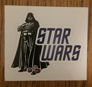 STAR WARS VINYL STICKER