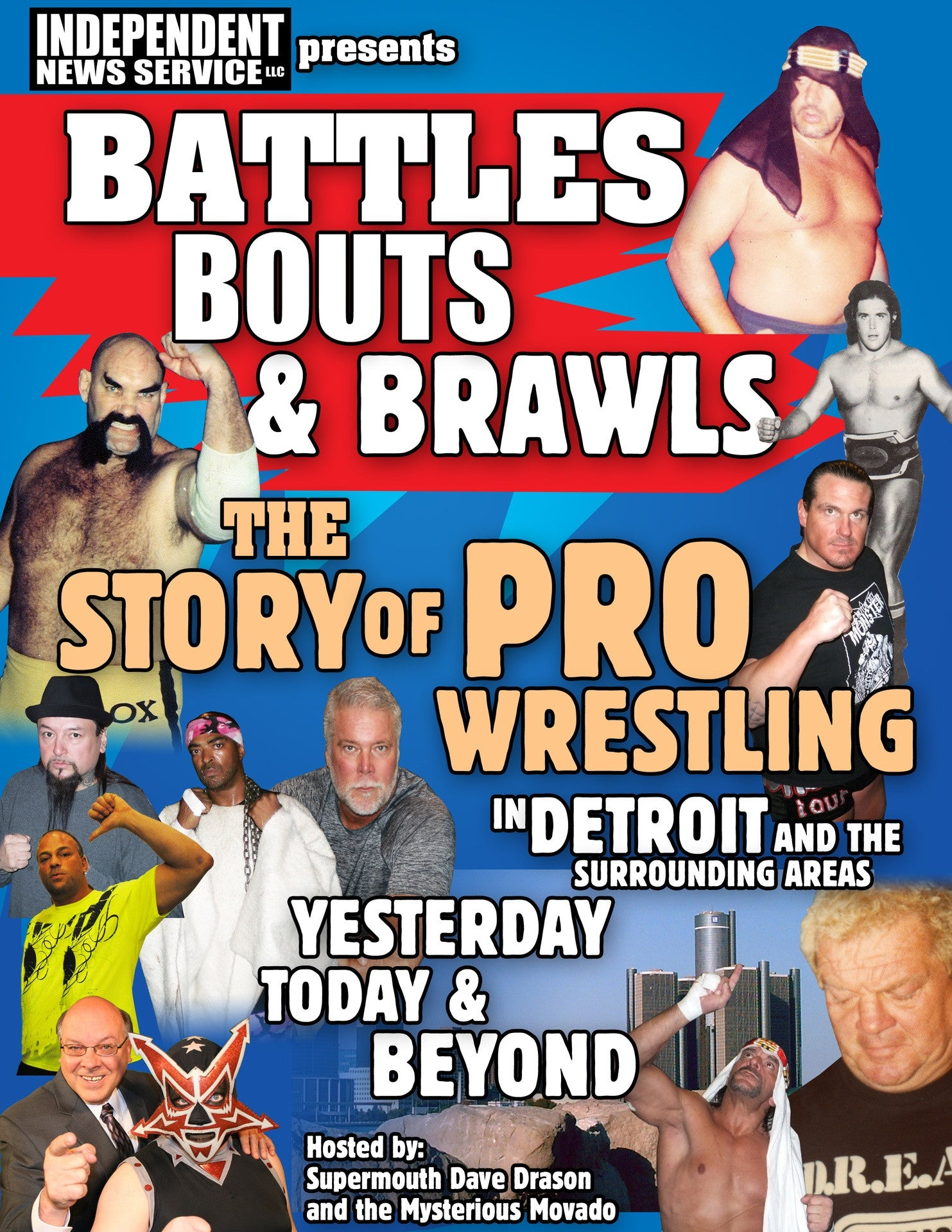 Battles Bouts And Brawls The Story Of Pro Wrestling In