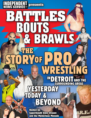 Battles ,Bouts and Brawls-The Story of Pro-Wrestling In Detroit 2 DVD
