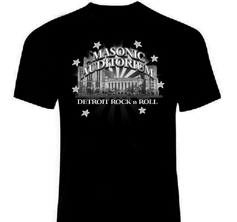 Masonic Temple Detroit T-Shirt | Lost In Sound Detroit, Double Sided venue